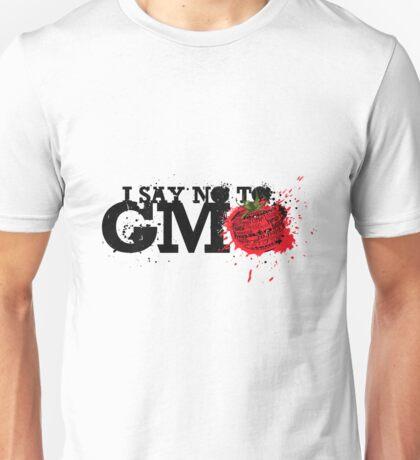 NO GMO graffiti art print / sticker Unisex T-Shirt
