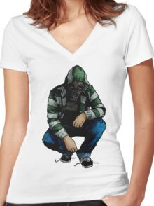 Leroy (Old Gear) Women's Fitted V-Neck T-Shirt