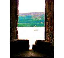 Boat on Ness Photographic Print