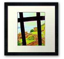 Crossview to Ness Framed Print