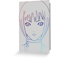 claymore clare symbol anime manga shirt Greeting Card