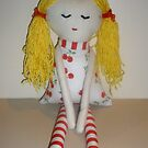 Handmade rag doll - Alexandra by Naomi  O'Connor