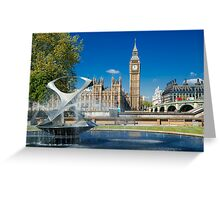 Big Ben: London, UK. Greeting Card