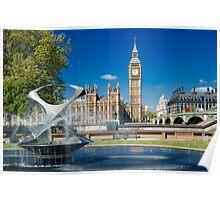 Big Ben: London, UK. Poster
