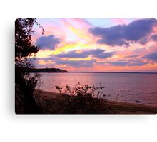 Northwest Sunset 1 Canvas Print