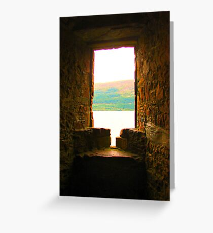 View to Ness Greeting Card