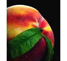 Just Peachy Photographic Print