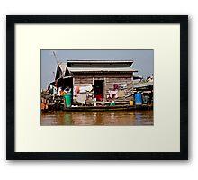 Water Views Framed Print