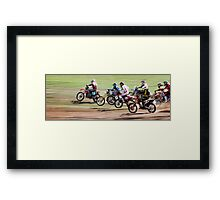 The Off Framed Print