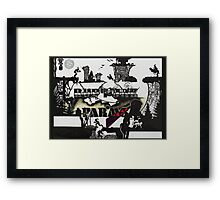 Abe's Oddysee ; Version 1  Framed Print