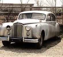 In The Beginning..1953 Jaguar mark7 Saloon by trueblvr