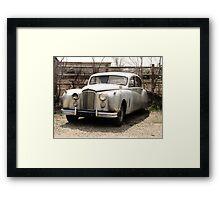 In The Beginning..1953 Jaguar mark7 Saloon Framed Print