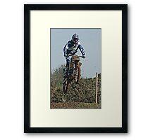 The Jump Framed Print