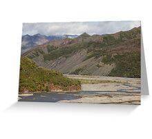 The Toklat River Greeting Card