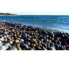 Lake Superior Rocks 2 - Marathon Ontario Canada Photographic Print