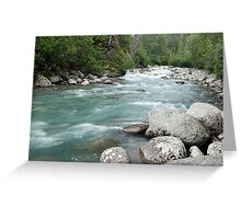 The Little Susitna Greeting Card