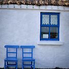 blue window by Michelle McMahon