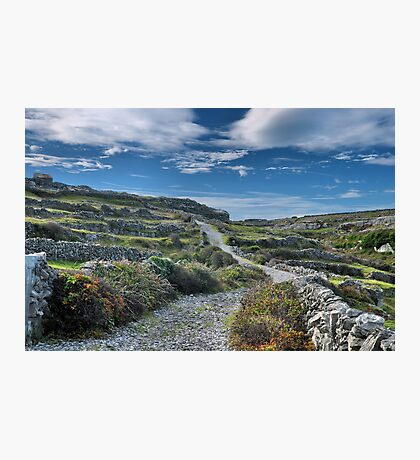the rocky road Photographic Print