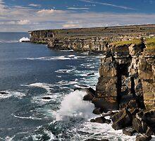 aran island cliffs by Michelle McMahon