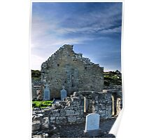 seven churches, Inishmore Poster
