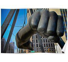 Joe Louis Fist...pow! Poster