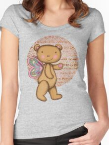 Love Bear Women's Fitted Scoop T-Shirt