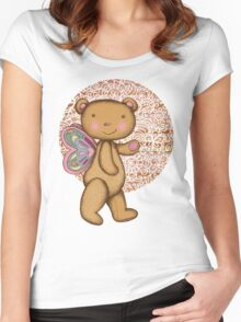 Love Bear Women's Fitted Scoop T-Shirt