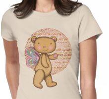 Love Bear Womens Fitted T-Shirt