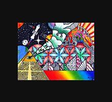 Pyramids of Dimethyltryptamine (DMT) Unisex T-Shirt