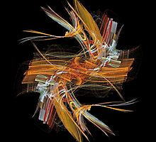 Orange Dash by cofiant