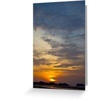 Kaw Kwang Sunset 10 Greeting Card