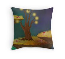 Night Sky - In A Surreal World Throw Pillow