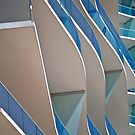 Curves and lines  by richard  webb