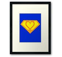 Super Sailor Venus Framed Print