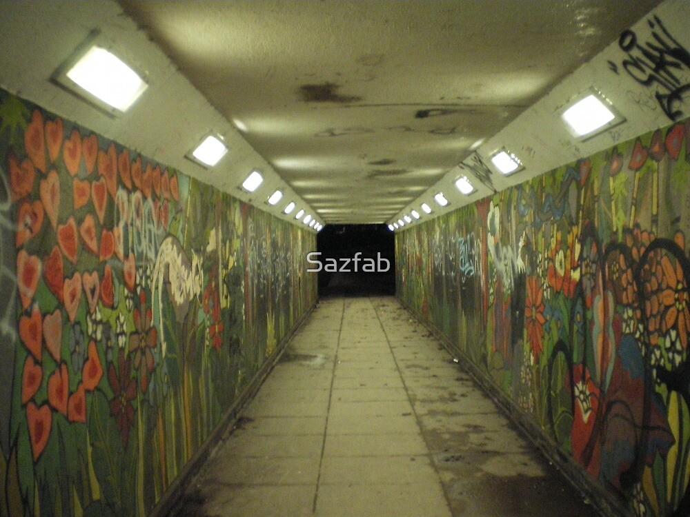 psycho subway by Sazfab