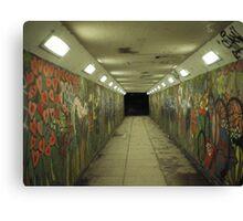 psycho subway Canvas Print