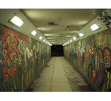 psycho subway Photographic Print