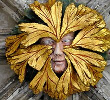 Green Man by richard  webb