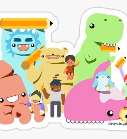Everybody draws! Sticker