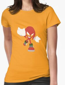 Knuckles the Echidna Womens Fitted T-Shirt
