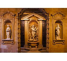Reliefs from the Renaissance period in Milan, ITALY Photographic Print