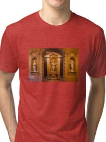 Reliefs from the Renaissance period in Milan, ITALY Tri-blend T-Shirt