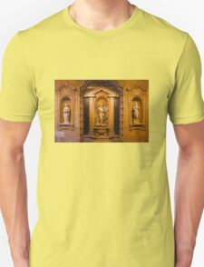 Reliefs from the Renaissance period in Milan, ITALY T-Shirt