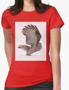 Proceed to runway for take off Womens Fitted T-Shirt