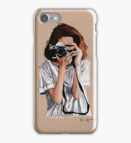 The Photographer iPhone Case/Skin