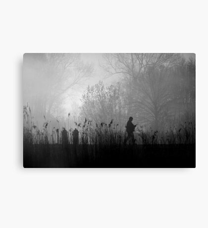Morning paper Canvas Print