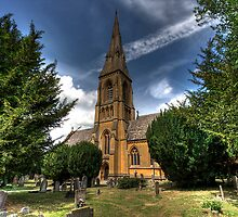 Cotswold Church by Peter Davies