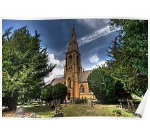 Cotswold Church Poster