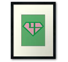 Super Sailor Jupiter Framed Print
