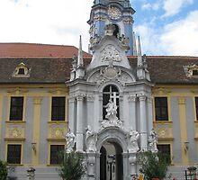 Durnstein Abbey by Elena Skvortsova